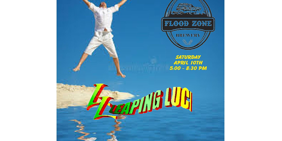 Leaping Luci at The Flood Zone!