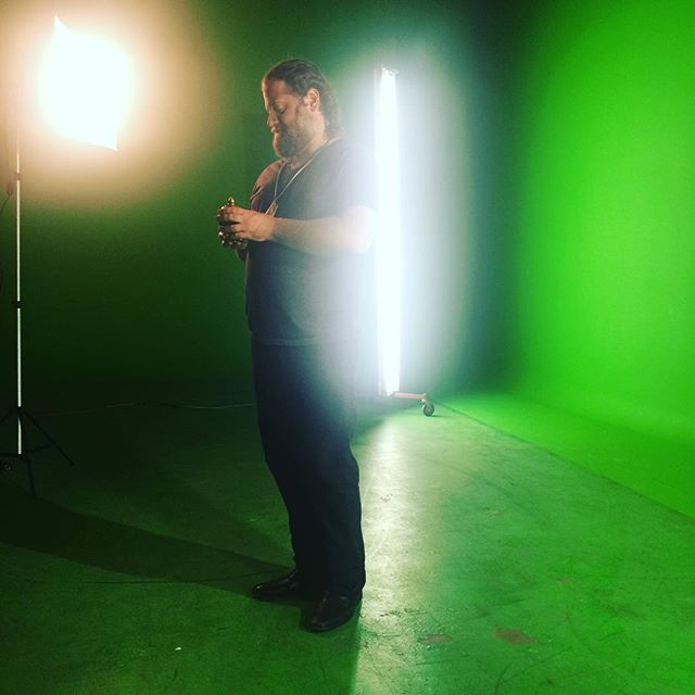 Green screen shots