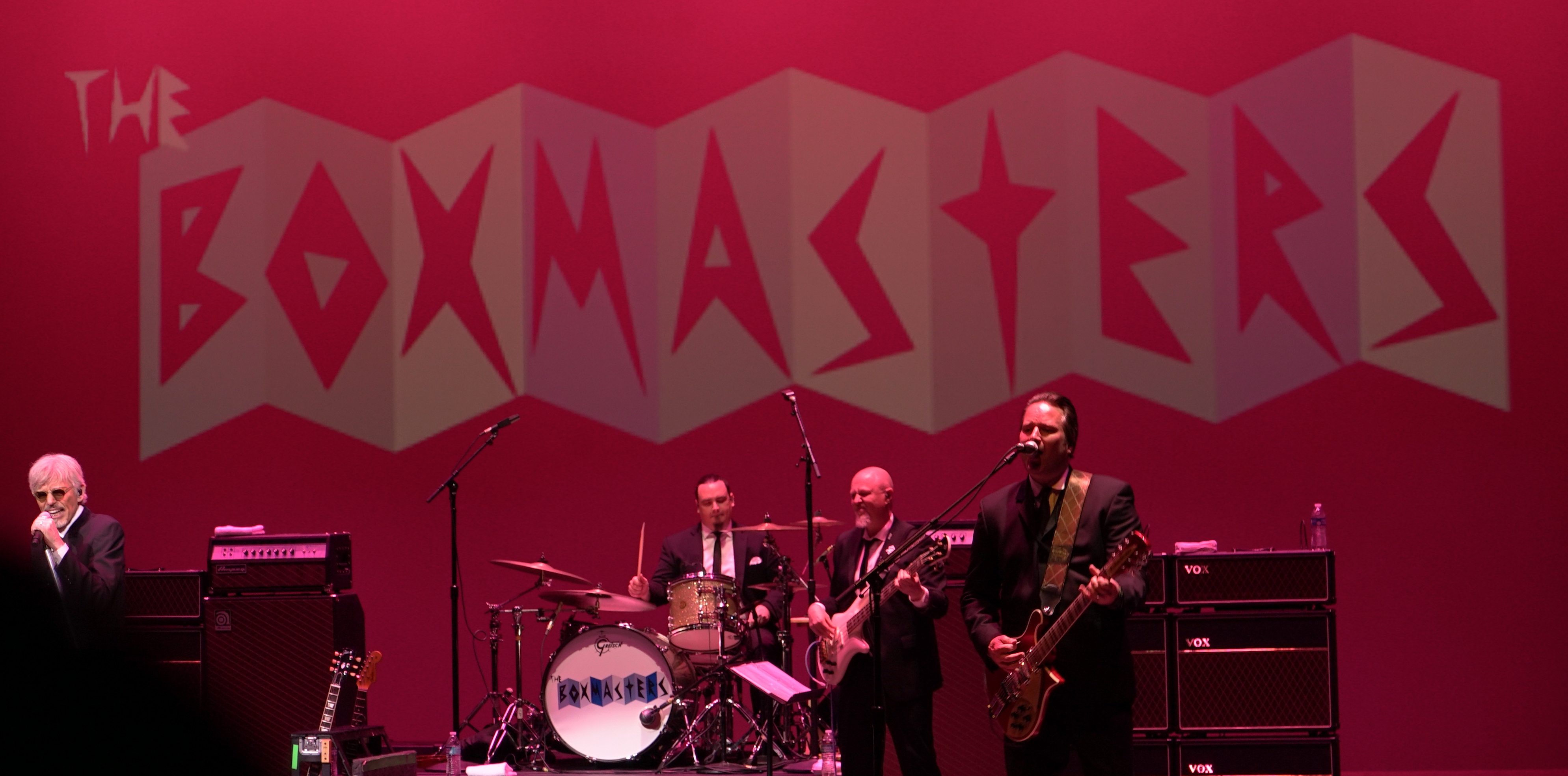 The Boxmasters band