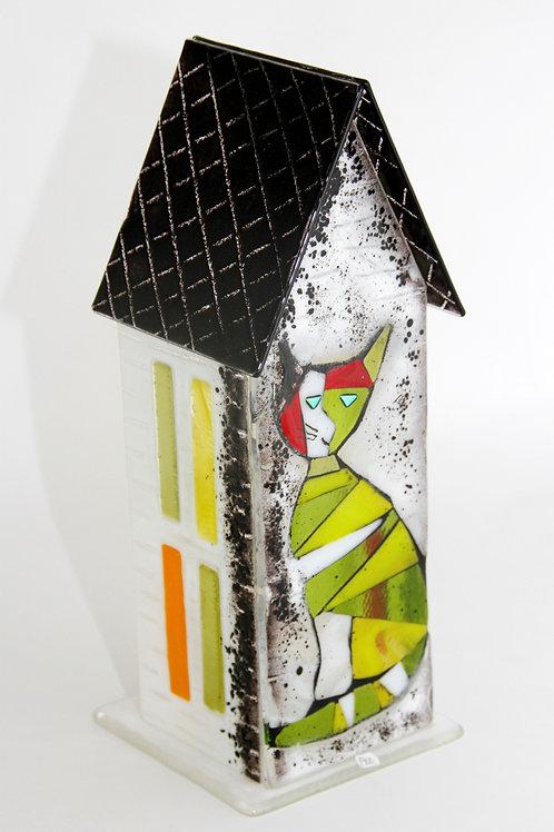 Glass house: 35cm