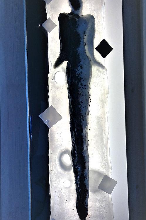 Glass lamp: Figure
