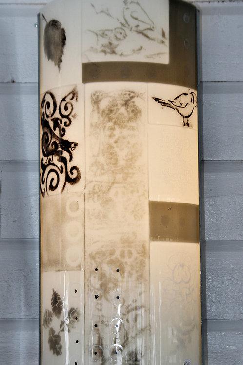 Glass lamp: Decorative