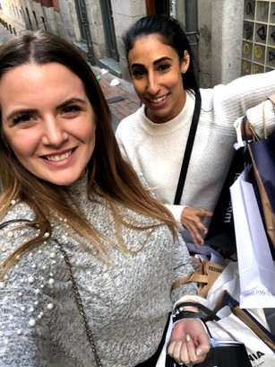 Shopping in Gran Via