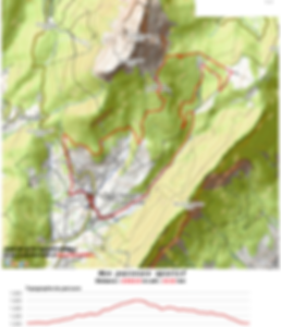 Tracé - Trail APF