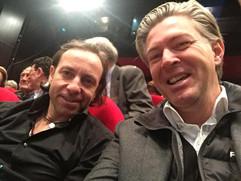 Avec Philippe CANDELERO, patineur