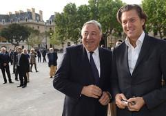 Avec Gérard LARCHER, Président du Sénat