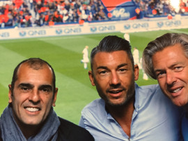 Avec Cédric PIOLINE & Ludovic RIBARDIERE