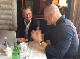 Avec le Chef Philippe ETCHEBEST