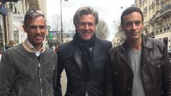 Avec Paul BELMONDO et Anthony DELON, un grand souvenir lors de la distribution du Calendrier PIRELLI