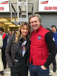 Avec Sarah LAVOINE, décoratrice