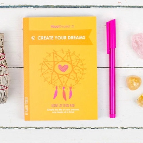 Create Your Dreams Action Pad