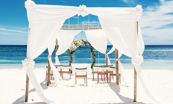 Пляжный свадебный навес