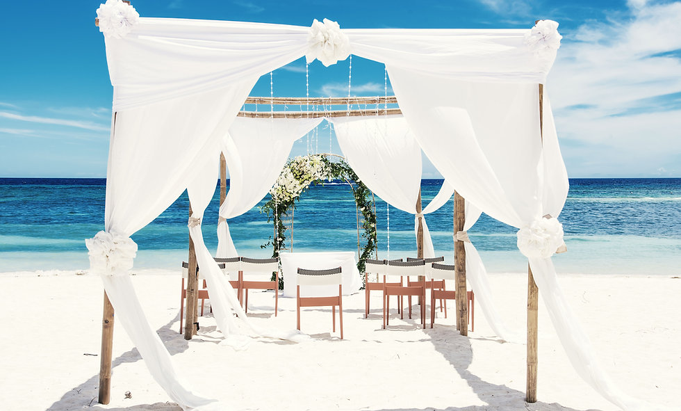 Beach Wedding Canopy