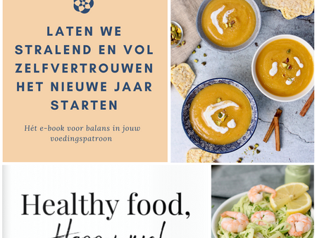 E-book release: Healthy food, happy me!