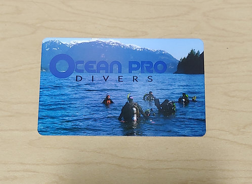 Ocean Pro Divers $500 Gift Card
