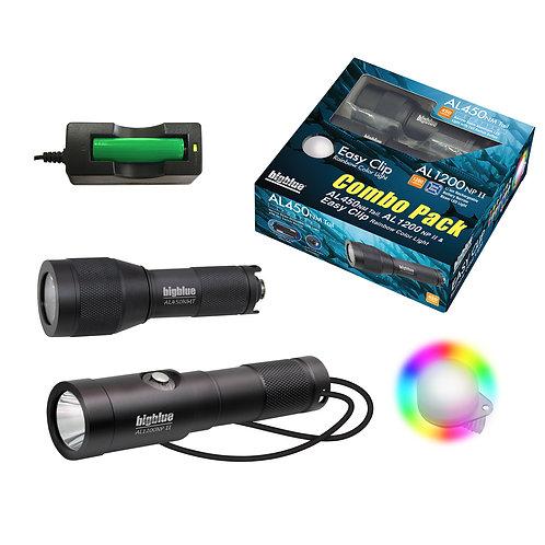 Bigblue Combo Pack: AL1200NP-II + AL450NT + Rainbow EZ Clip