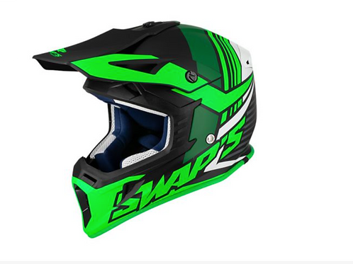 CASCO DA CROSS BLUR S818