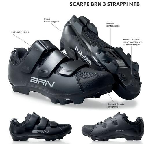 SCARPE BRN 3 STRAPPI MTB