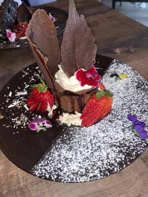 Custom Birthday Dessert