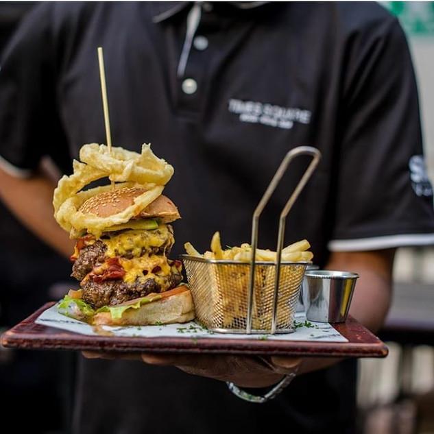 Double Down Burger
