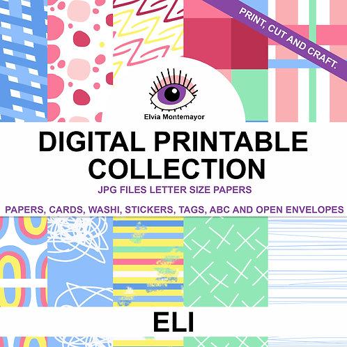Eli Digital Printable Collection