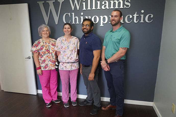 An image of the staff at Williams Chiropractic