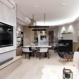 【 精緻家居與慵懶感 】  大圍 名家匯  透過獨到的眼光,混合不同的材料與比例,構建出理想與質感兼具的生活家居。今次的 奶油系 配色家居,您喜歡嗎?