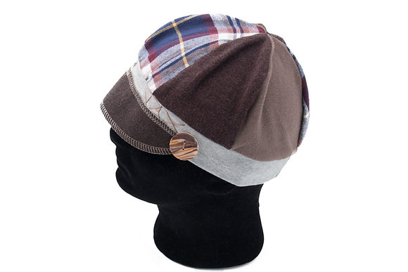 Suave Brown with Tartan