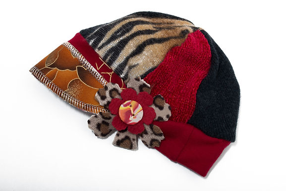 Animal Print with Red & Black