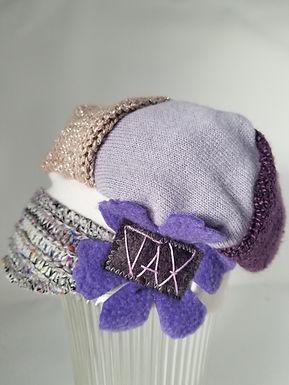 Infant sweater sweet purple