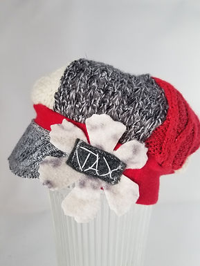 Infant red and grey