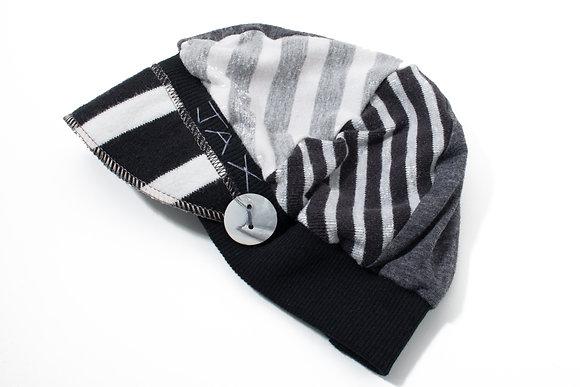 Black White & Grey Stripe