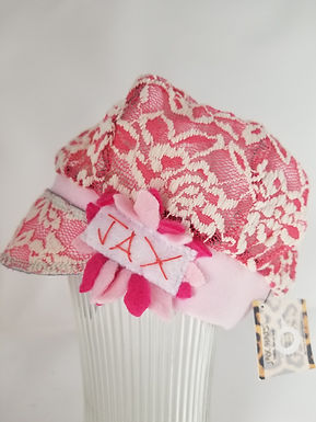 Toddler pink lace