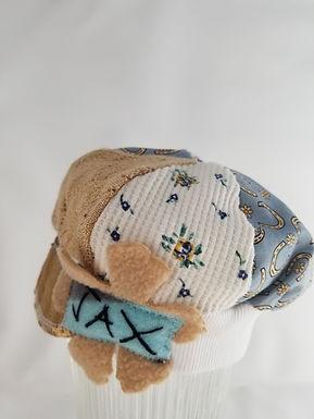 Infant blue horsehoe