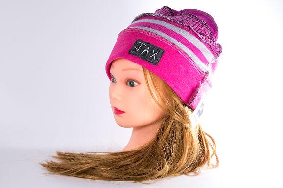 Pink Striped Knit