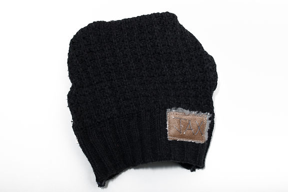 Charcoal Grey Cable Knit