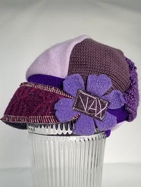 It's purple!
