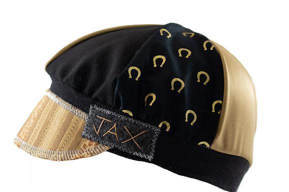 Gold & Black Horseshoe