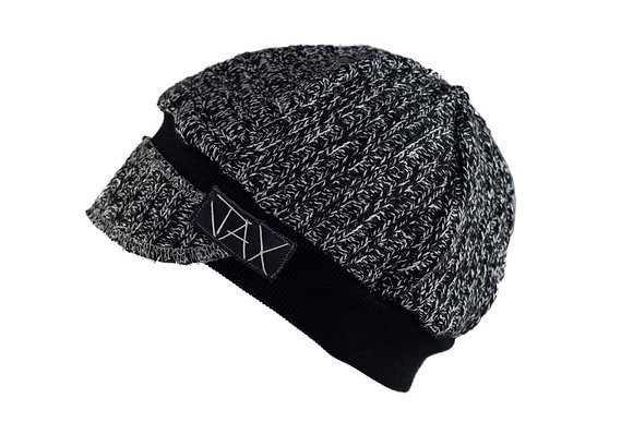Chunky Knit Black & White Speckle
