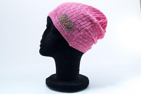 Pink Crosshatch