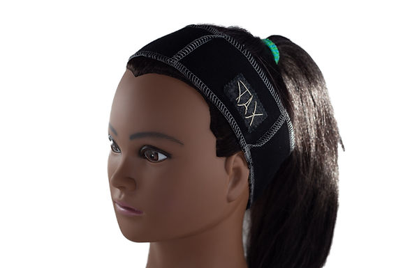 Black Unisex Headband