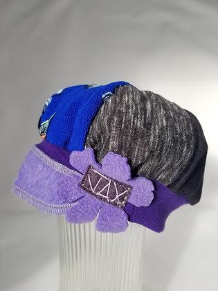 Child Purple blue