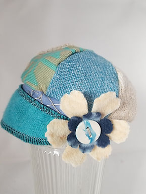 Infant cream and Blue