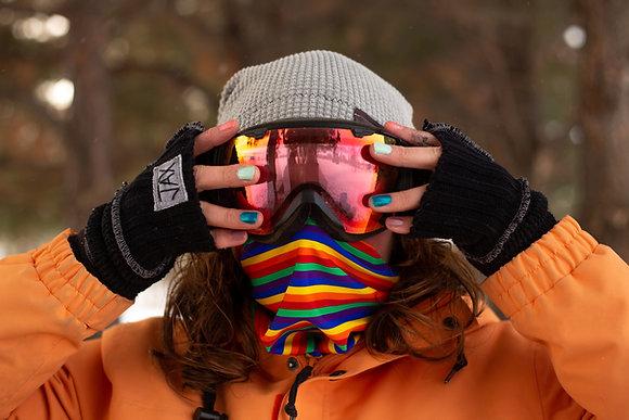 Rainbow PRIDE Mask/Headband/Neckwarmer
