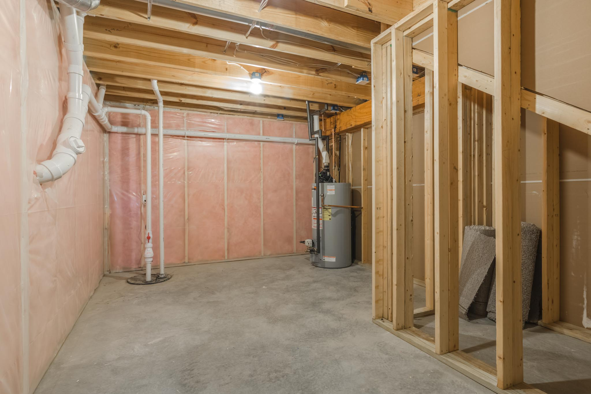 1815 Pfitzer basement in Normal IL home for sale