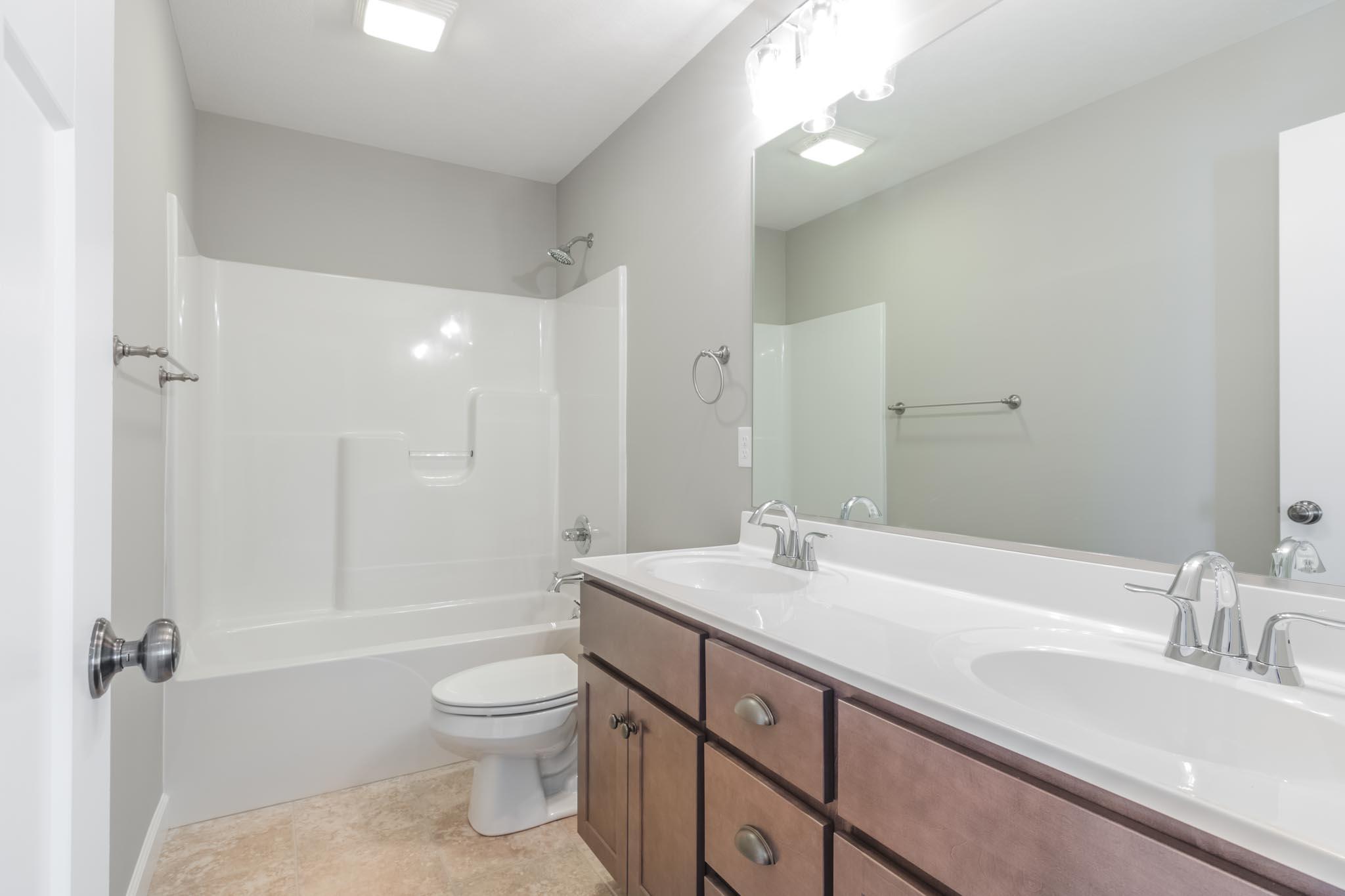 1815 Pfitzer big bathroom in Normal IL home for sale
