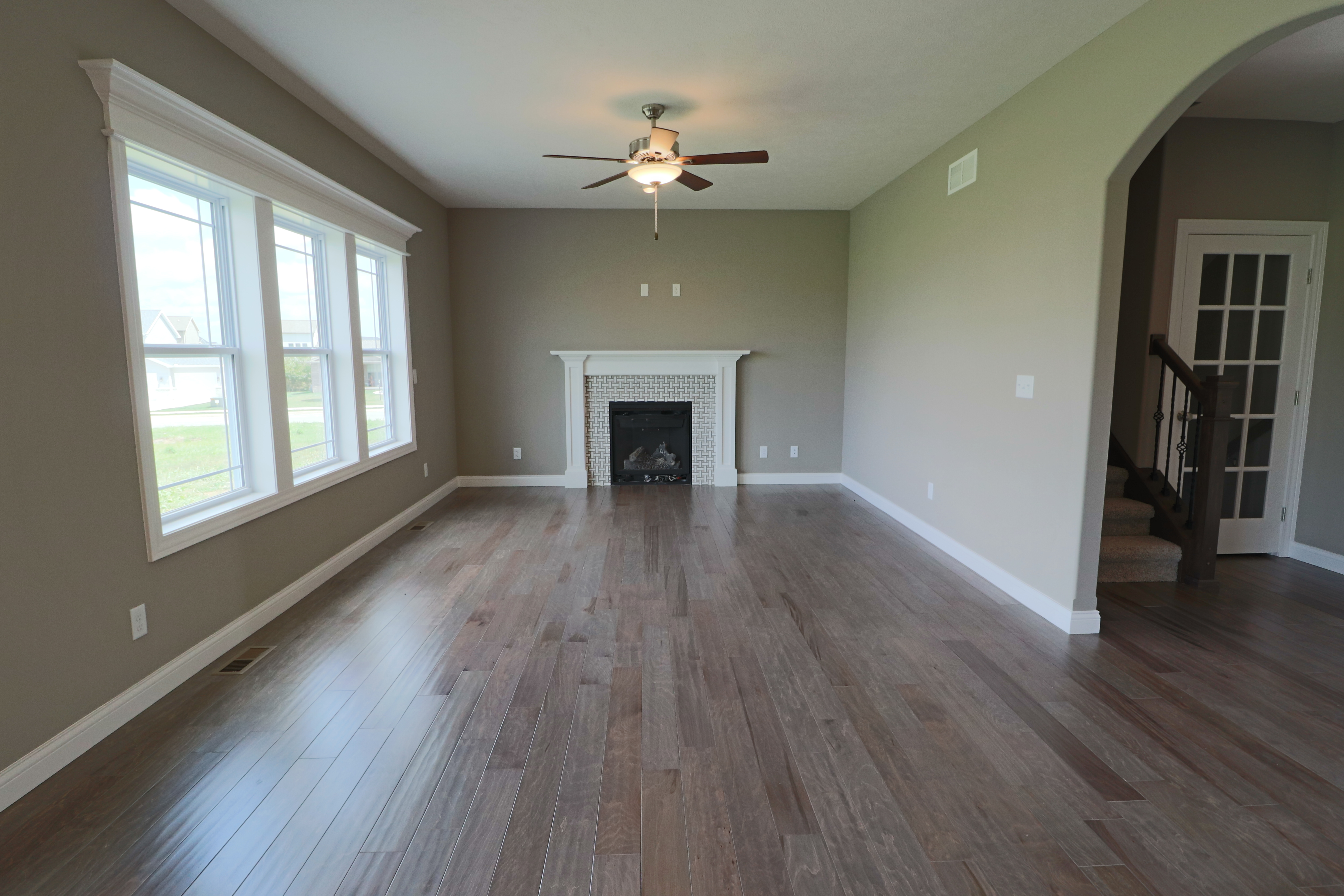 House for sale in the Dunlap peoria area fireplace