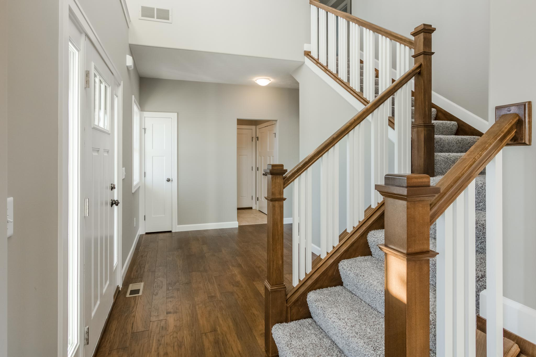 1815 Pfitzer staircase in Normal IL home for sale