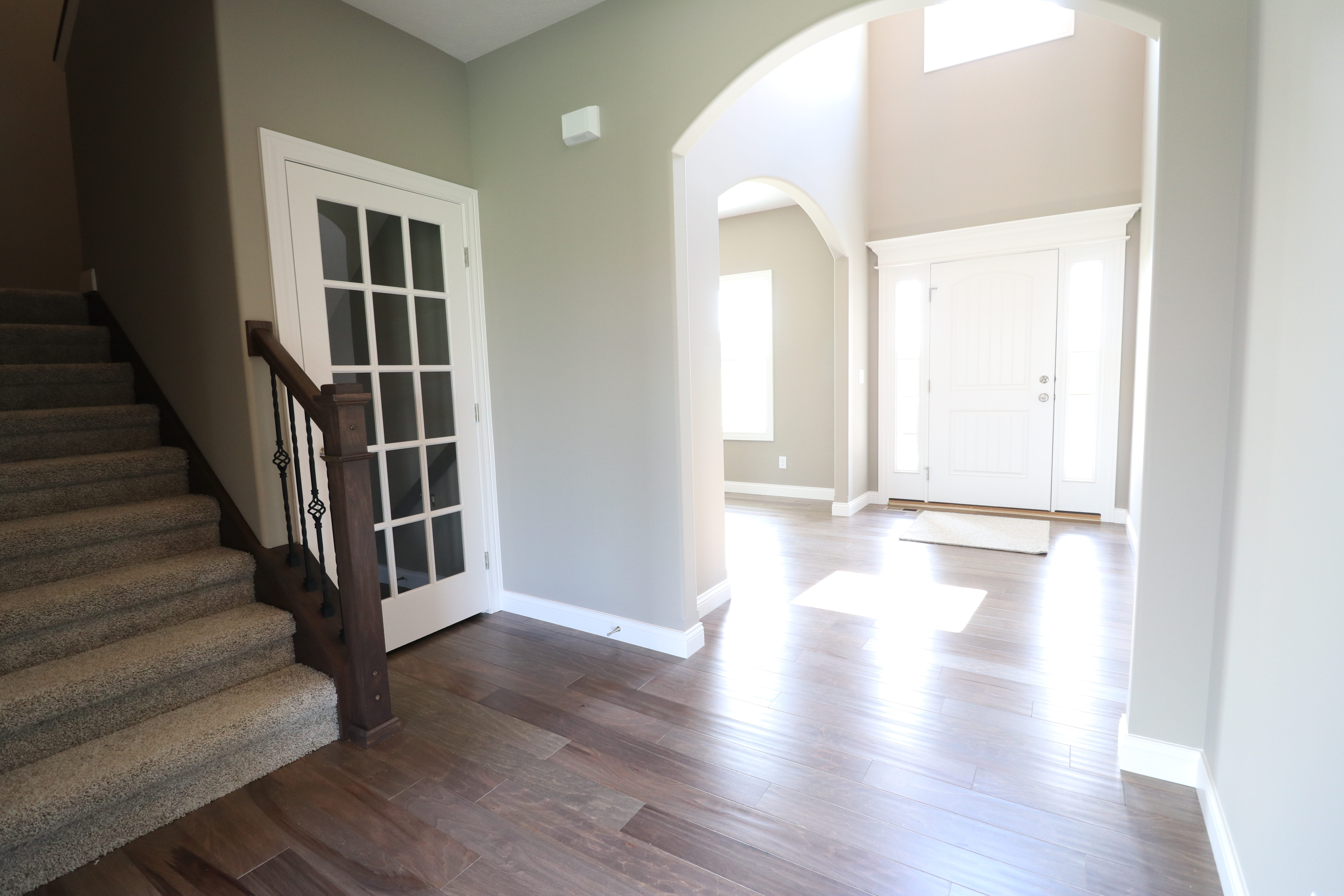 House for sale in the Dunlap peoria area stairs and entrance