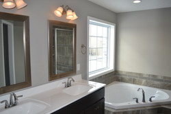 New Home in Champaign with jacuzzi bathtub